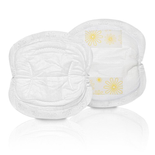 4a840770bf75d Designed for when you re experiencing heavy breast leaking – especially  soon after your baby s birth – Medela s ultra-absorbent disposable nursing  pads keep ...