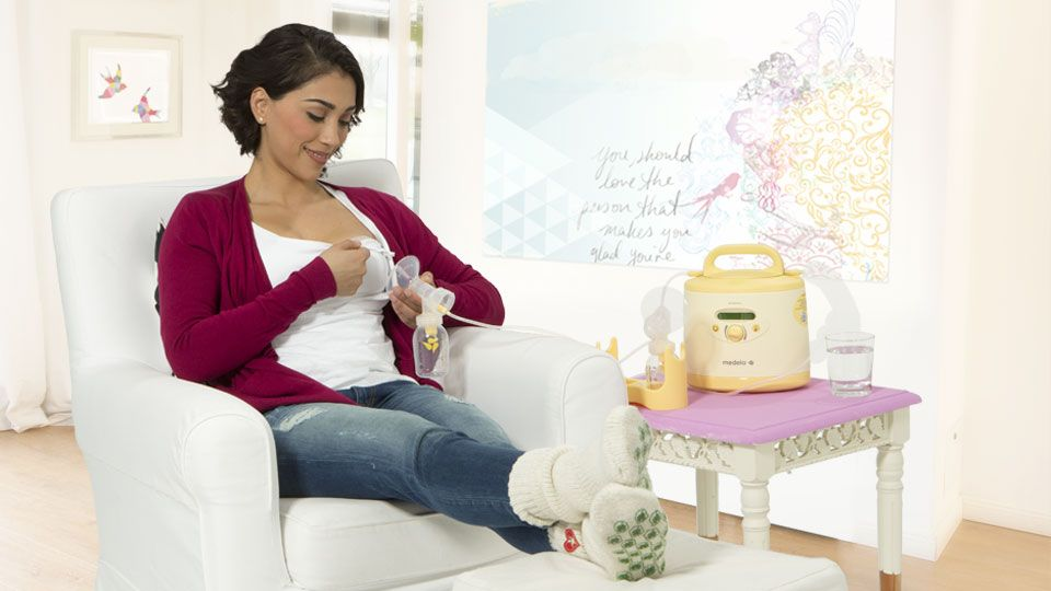 Using breat pump instead of breast feeding